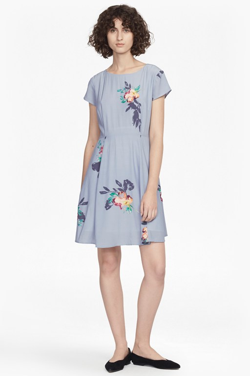 Complete the Look Delphine Drape Fit and Flare Dress
