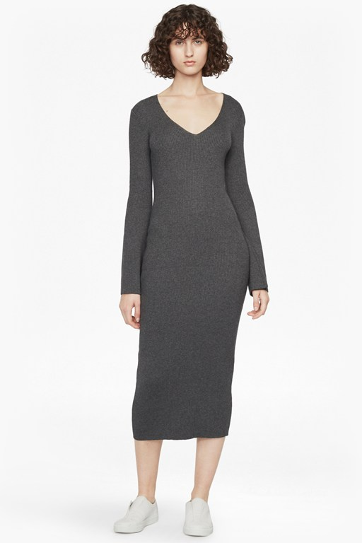 virgi knits midi dress