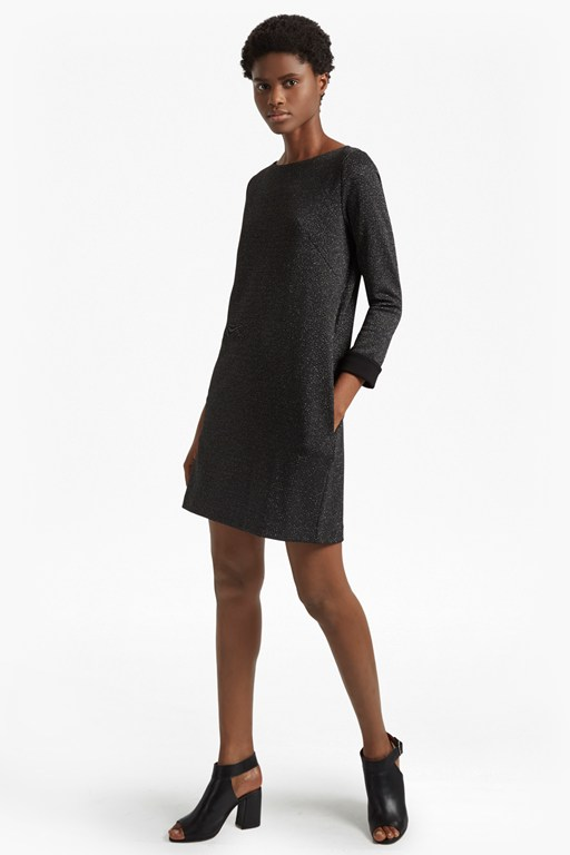 Complete the Look Louna Jersey Embellished Tunic Dress