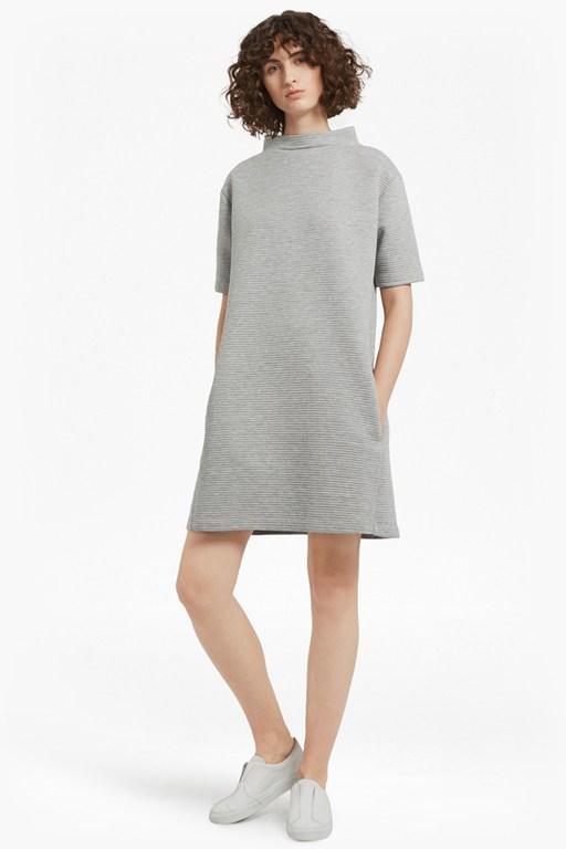 Complete the Look Marin Ottoman Jersey Dress