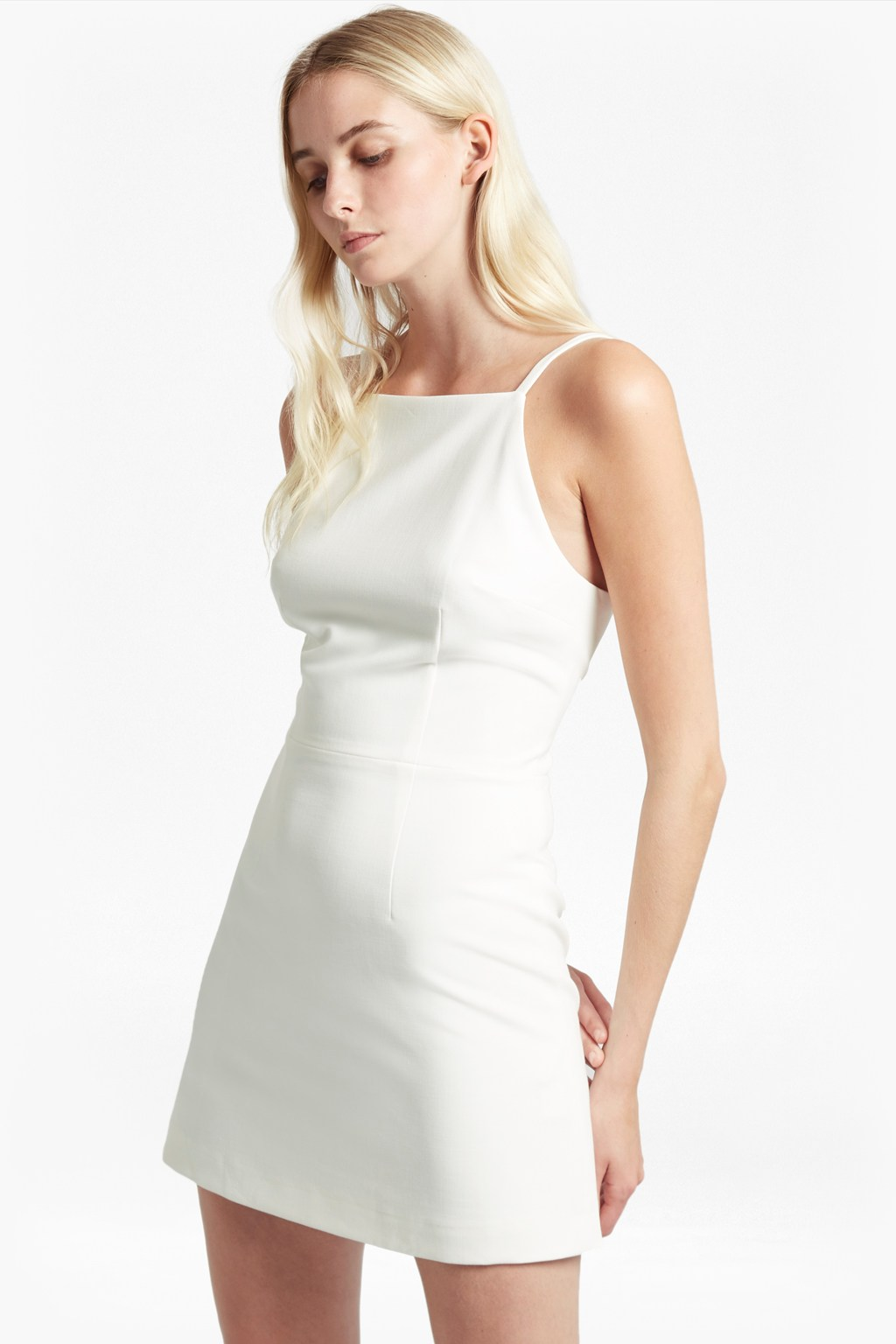 4056dc09d887 Summer Whisper Light Square Neck Dress | Collections | French ...