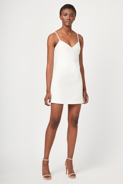 Summer Whisper Light V Neck Dress