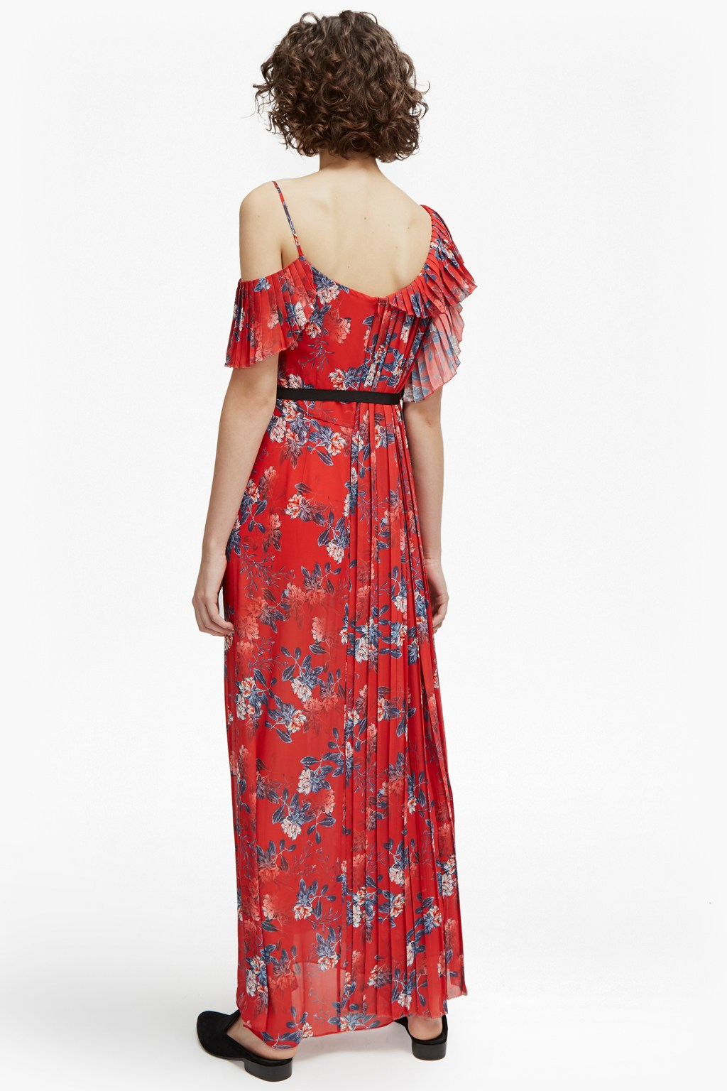 79a986f1ce6 Kioa Drape Strappy Maxi Dress | 4Th Of July | French Connection Usa