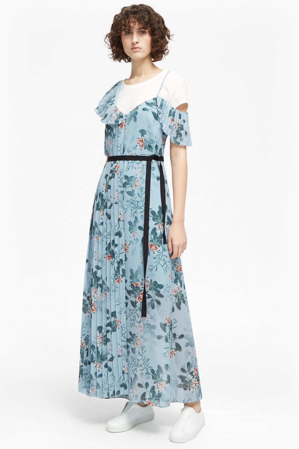 Kioa Drape Strappy Maxi Dress | Collections | French Connection Usa