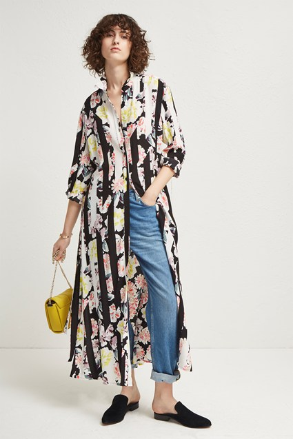 Enoshima Drape Maxi Dress