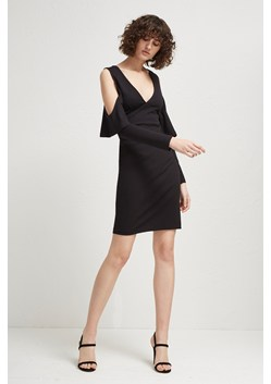 Beau Viscose Jersey Cold-Shoulder Dress