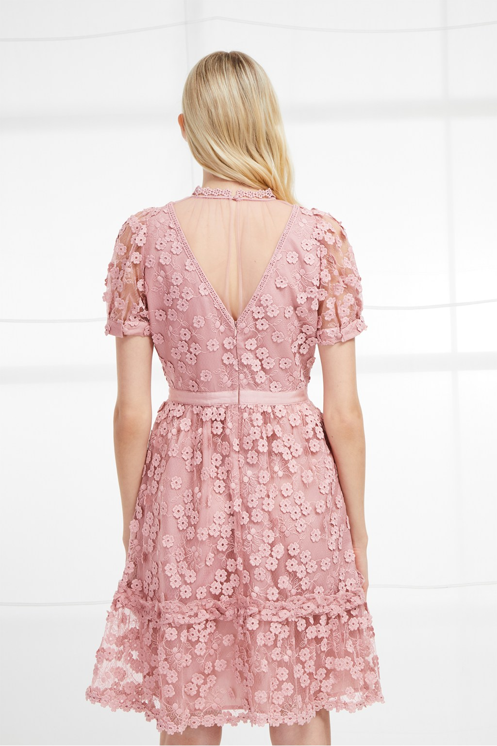Caballo Lace High Neck Dress   Sale   French Connection Usa