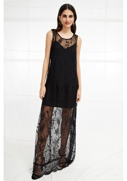 Pemba Stitch Lace Maxi Dress