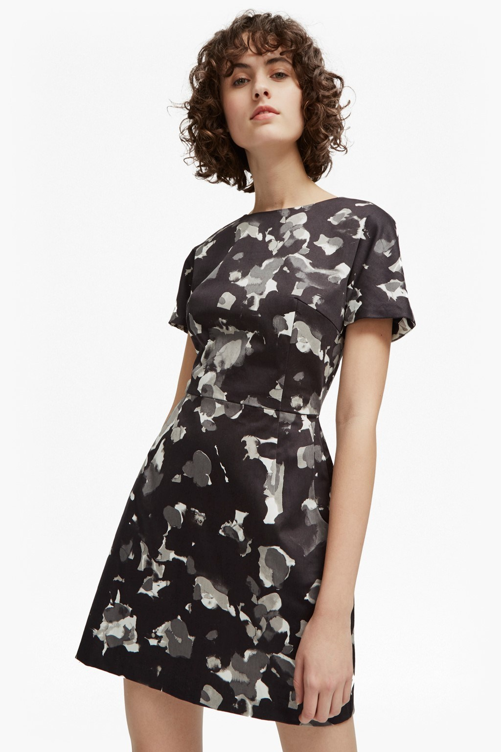 Balla Camo Dress | Collections | French Connection Usa
