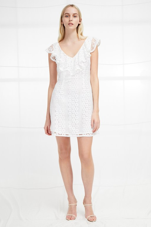 massey lace sleeveless dress