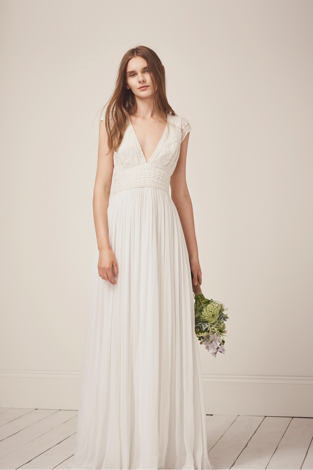 Palmero Embellished Wedding Dress | Collections | French