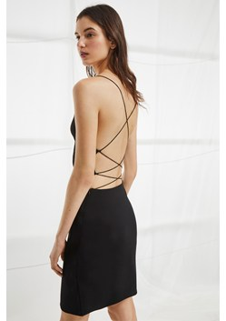 Santorini Drape Jersey Strappy Dress