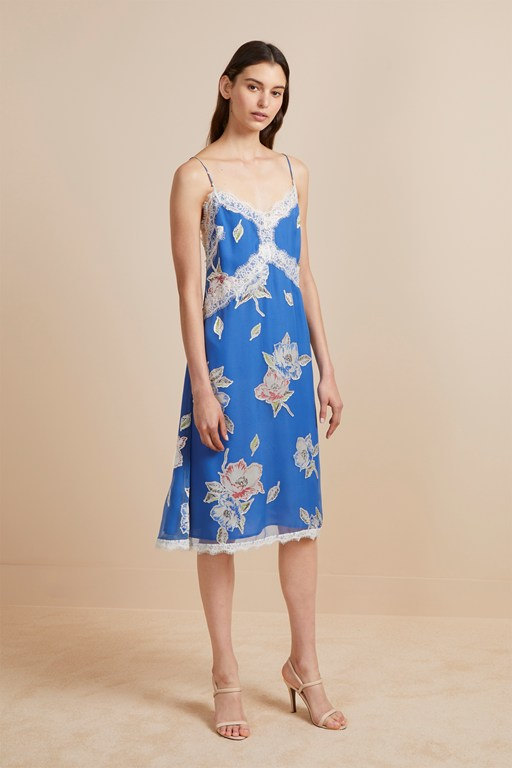 cari devore floral cami dress