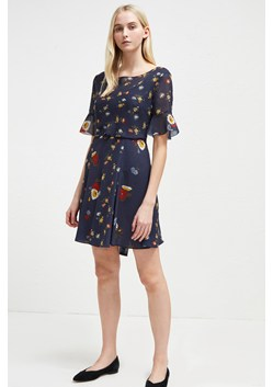 Baudet Print Twist Waist Dress
