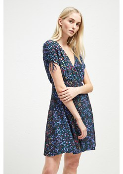 Aubine Drape Floral Dress