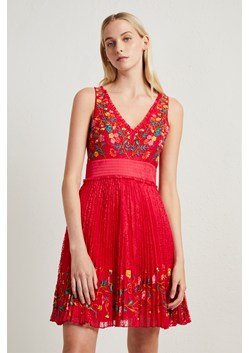 Amity Lace Embroidered Dress