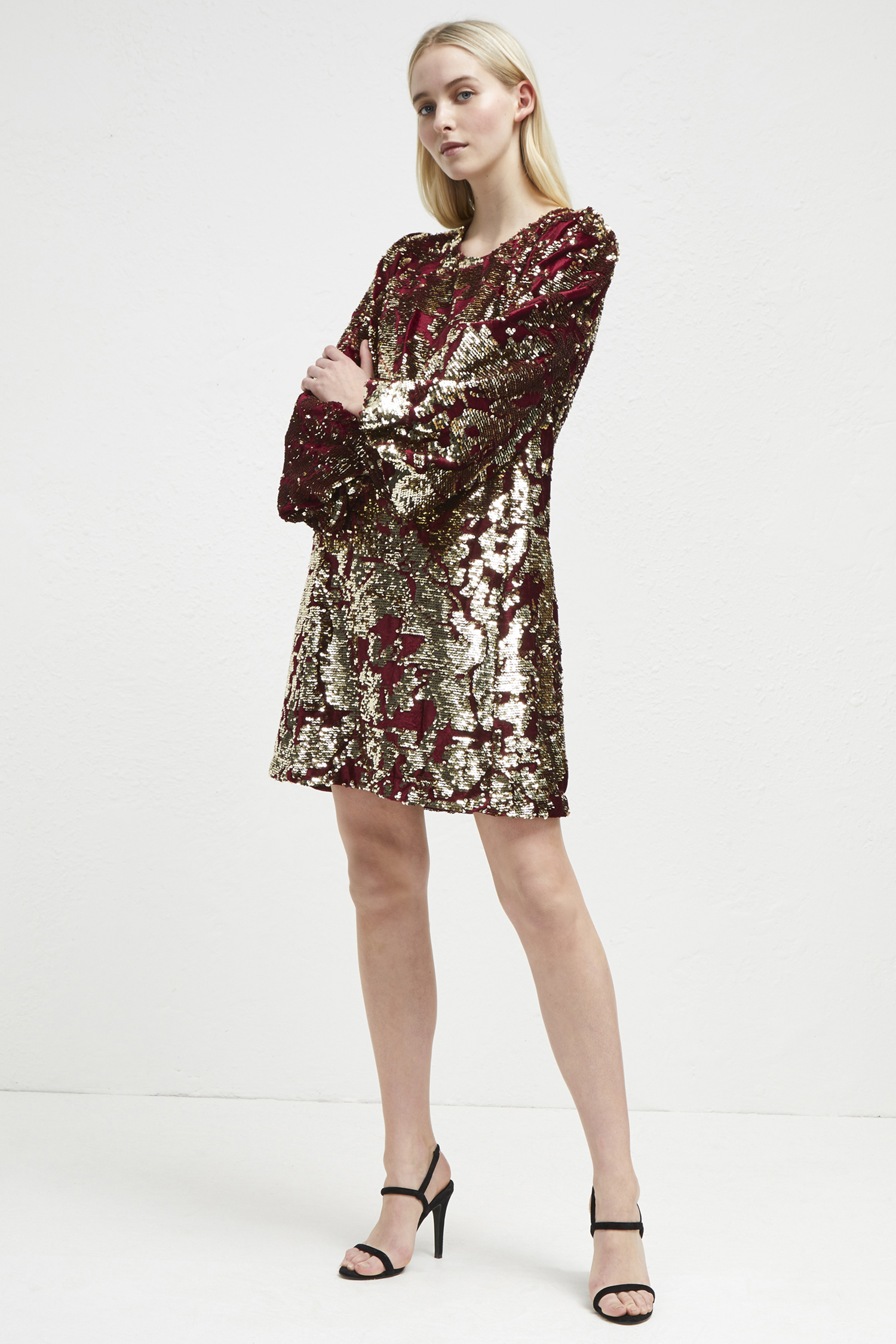 Ethel Sequin Tunic Dress by French Connection