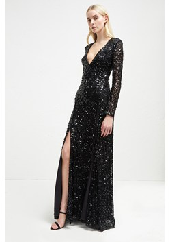 Helena Sparkle V Neck Maxi Dress