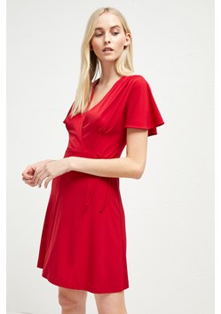 Alexia Crepe Jersey Wrap Dress