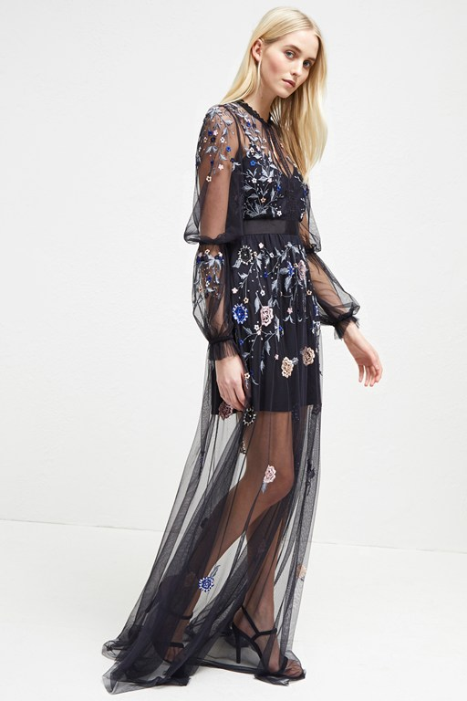 caspia embroidered maxi dress