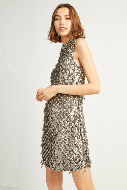 Edda Sparkle Tear Drop Bodycon Dress
