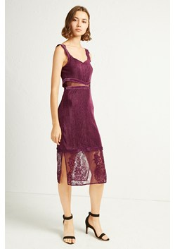 Sarelle Ottoman Velvet Jersey Strappy Dress