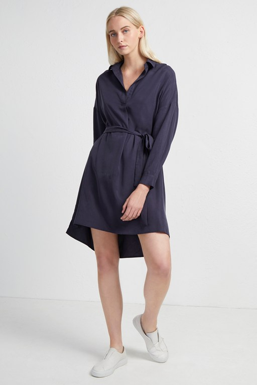 rhodes popover shirt dress
