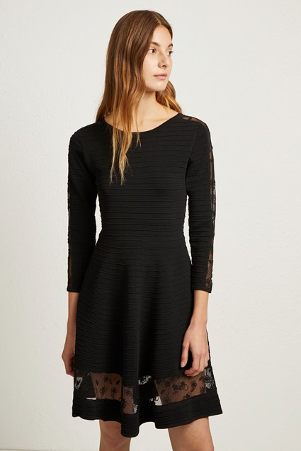 Voletta Crepe Knit Dress