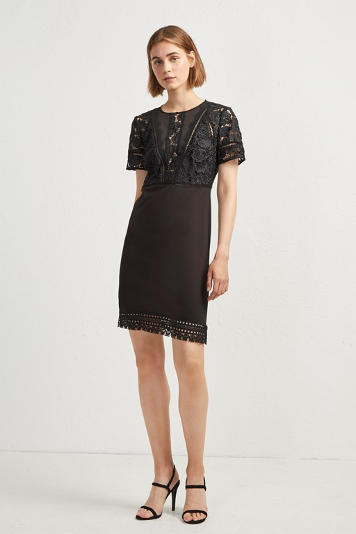viola lula lace dress