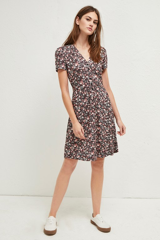 fauna meadow jersey dress