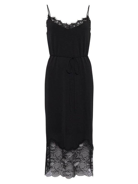 rosemaria lace jersey dress