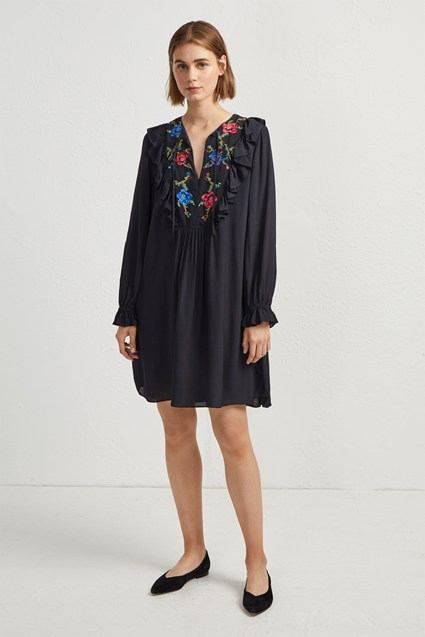 Elishia Embroidered Dress