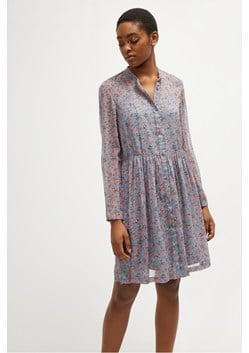 Fifine Crinkle Shirt Dress