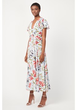 Cadencia Cari Wrap Maxi Dress