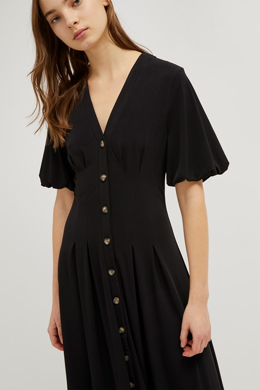 serafina slinky midi dress