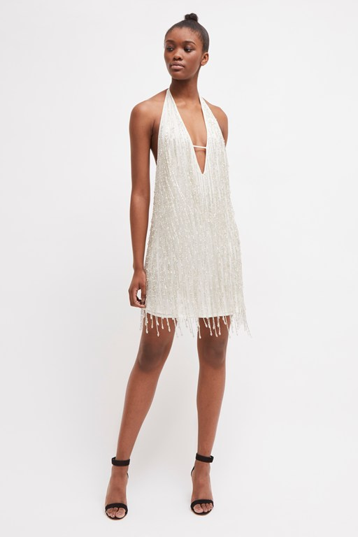 celosia shine sequin mini dress