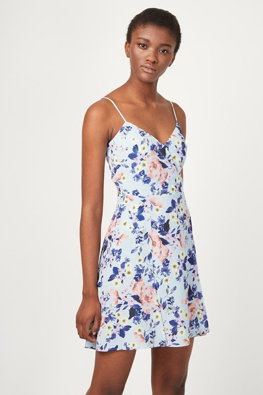 armoise strappy cami dress