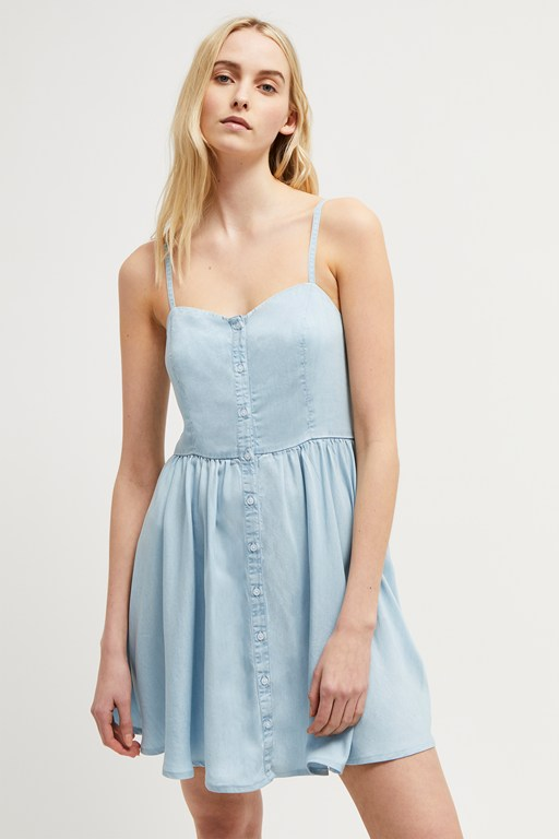 julienne button front dress