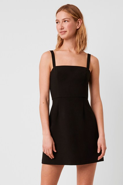 Whisper Straight Neck Dress