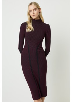 Simona Bodycon High Neck Dress