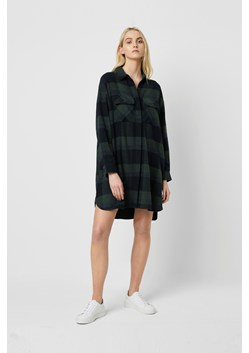 Lauretta Flannel Check Shirt Dress