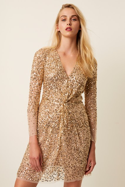 Emille Sequin Mini Dress