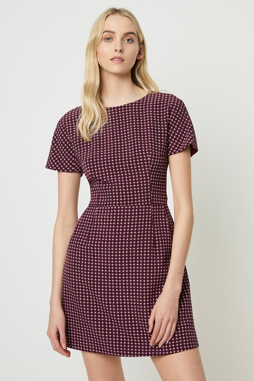 bettina stretch short sleeve dress