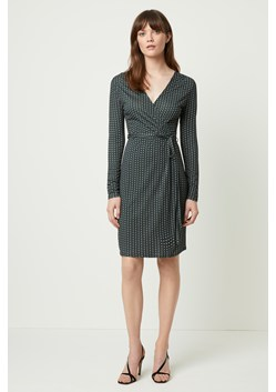 Cosimo Meadow Jersey Wrap Dress