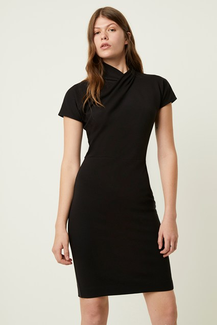 Raakel Beau Jersey Twist Neck Dress