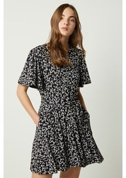 Angelina Meadow Floral Belted Dress