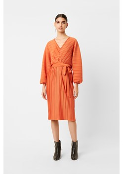 Regi Pleated Sleeved Dress