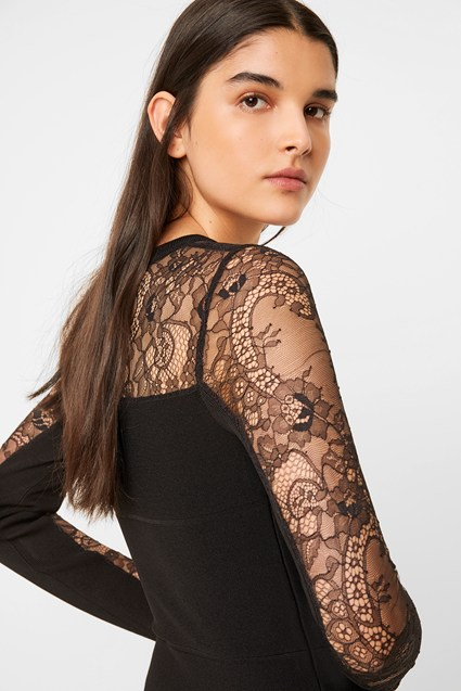 Odelia Lace Tobey Bodycon Dress