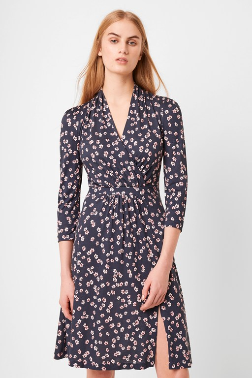 eloise meadow wrap dress