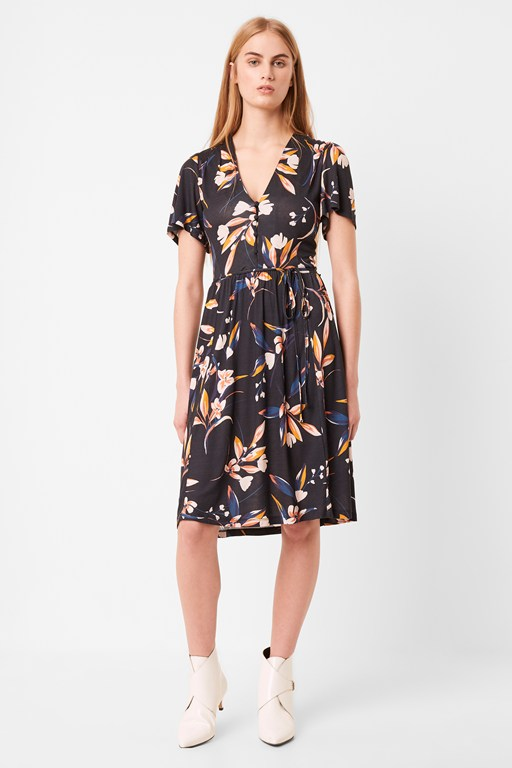 elvia meadow belted dress